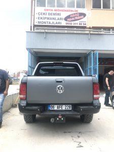 Volkswagen Amarok Çeki Demiri⇔ ÇEKİ DEMİRİ TAKMA MONTAJI /ARAÇ PROJE FİRMASI ANKARA