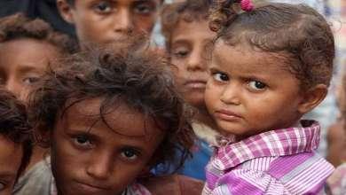 """Photo of """"عاجزون عن البكاء"""".. الجوع يهدد مليون طفل إضافي في اليمن"""