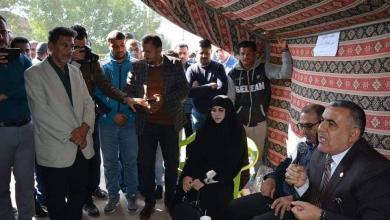 Photo of نواب كربلاء يشاركون معتصمي الكهرباء مطالبهم