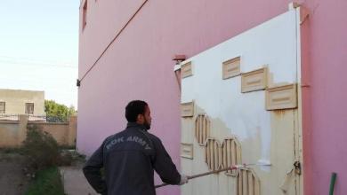 Photo of تحديث وتنظيم القاعة الاولمبية بقضاء الجدول الغربي (كربلاء)