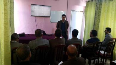 Photo of معهد ICMSR للصحافة والاعلام يقدم دورة في تحرير الخبر لصالح ملاكات المستشفى البيطري