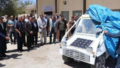 Photo of باحث كربلائي يبتكر سيارة تعمل بالطاقة الشمسية