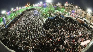 Photo of بالصور: احياء مولد الامام المهدي المنتظر (عج) في كربلاء المقدسة.