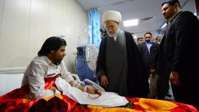 Photo of بالصور / افتتاح  قسم غسيل الكلى (الديلزة ) في مستشفى زين العابدين ع