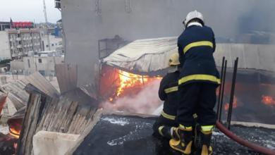 Photo of إخلاء 160 نزيلاً بعد اندلاع حريق في فندق بكربلاء