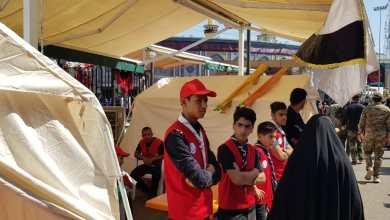 Photo of جمعية الهلال الاحمر تقوم بتقديم الخدمات الاسعافية والخدمية للزوار في عاشوراء