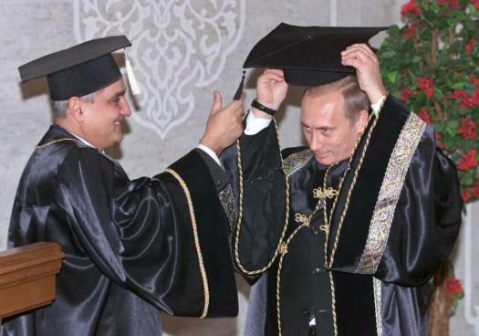 Putyin és a Debreceni Egyetem