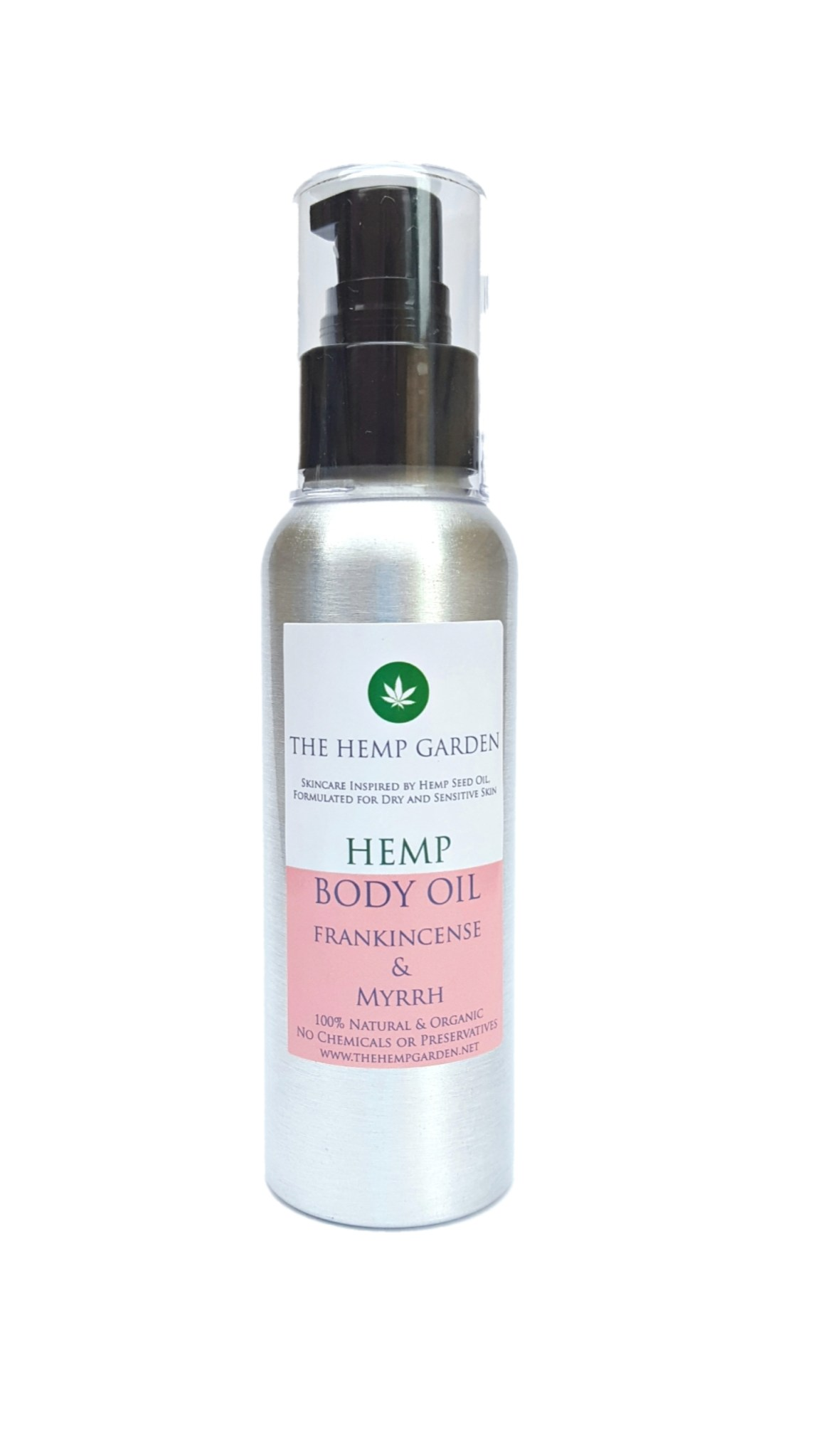 Hemp Garden Body Oil Frankincense Myrrh