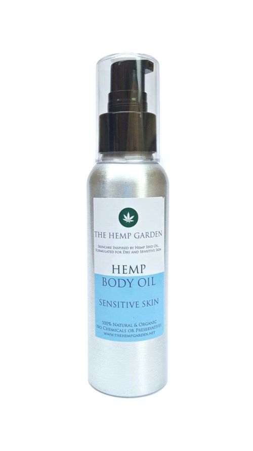 Hemp Garden Body Oil Sensitive