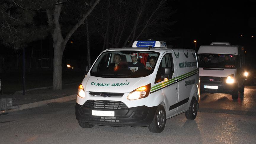 Şehit Muratdağı'nın cenazesi Kayseri'ye getirildi