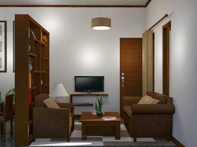 ruang tamu sempit