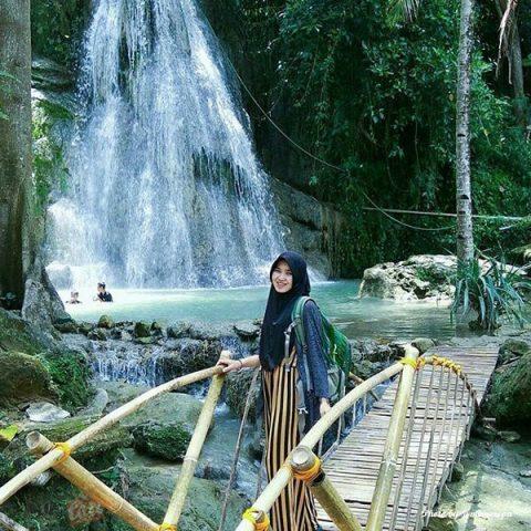 Randusari, Air Terjun di Bentang Perbukitan Kapur Dlingo