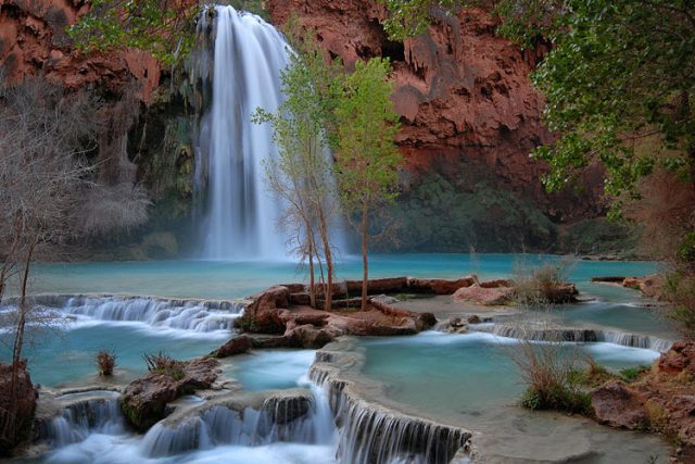 Air Terjun Hasavu di Grand Canyon, Amerika Serikat