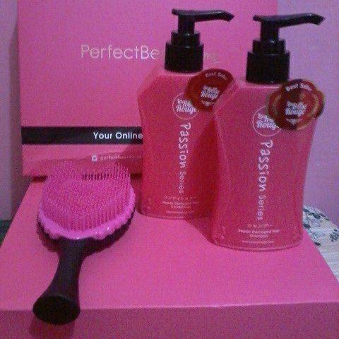 La Rose Rouge Repair Damaged Hair shampoo