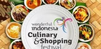 Wonderful Indonesia Culinary and Shopping Festival