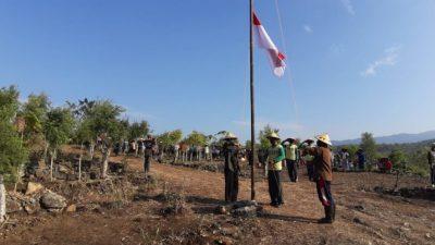 upacara bendera petani nglipar