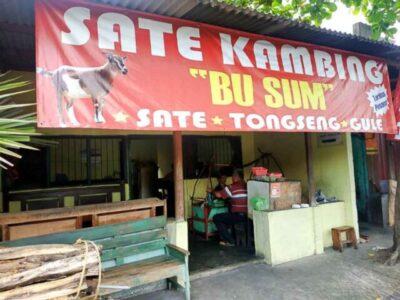 sate kambing bu sum