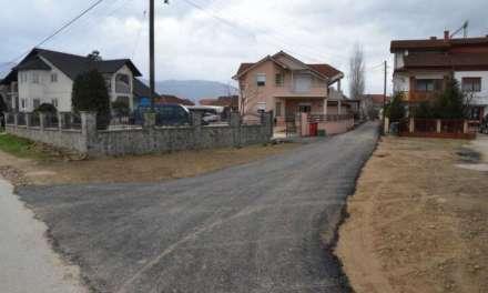 Асфалтирани се пет улици во населеното место Муртино