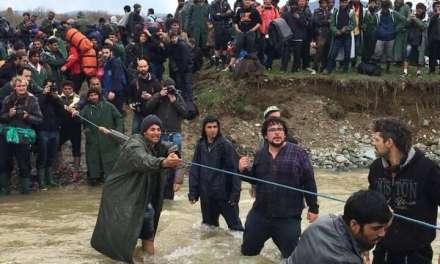 Драматично кај Моин – Гевгелиско, мигранти илегално влегоа во Македонија