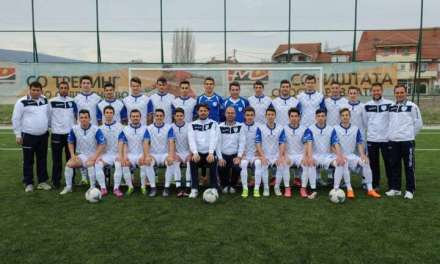 Виареџо тимот на Пандев ремизираше со младинскиот Шампион на Бугарија