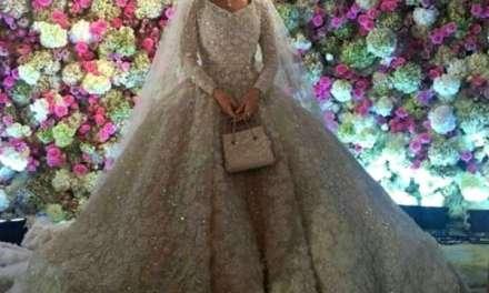 Милјарди евра за руска свадба, невестата во венчаница покриена со 25 кг. дијаманти
