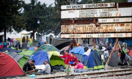 Повторно блокирана пругата кај Идомени
