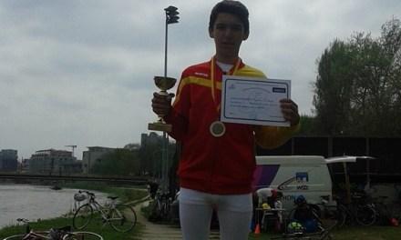 Видео –  Давид од Радовиш, огромен талент во македонскиот Триатлон а има само 13 години