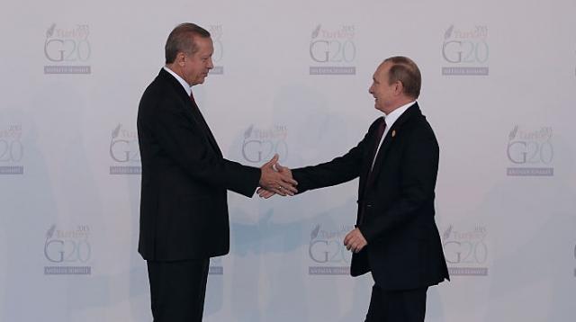 Ердоган му се извини на Путин