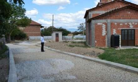 Почна изградбата на улица во населеното место Ангелци