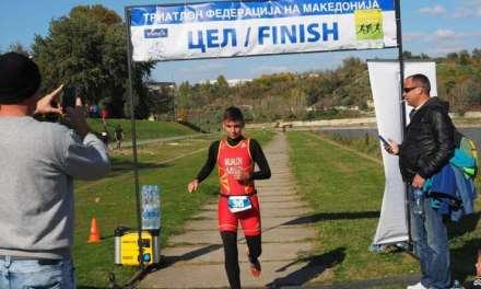 Давид Мијалов од Радовиш, по четврти пат – Шампион на Македонија во Триатлон