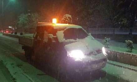 Општина Струмица: Се чисти снегот во градот и населените места