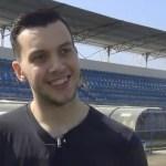 Интервју со Дени Илиев – До Европското за млади во Полска ќе бидам подготвен а наесен да застанам и на мрежата на Арсенал