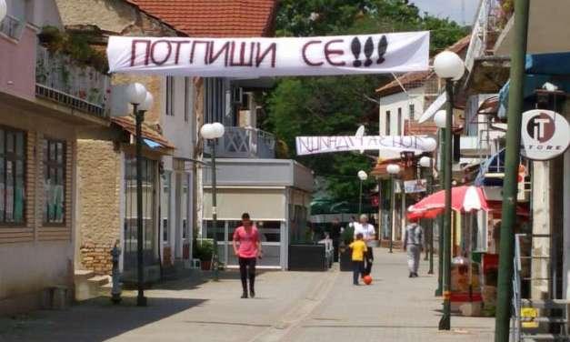Почна собирањето 2000 потписи за референдум во Валандово против рудници