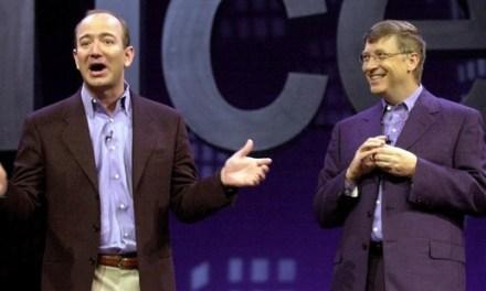 Џеф Безос од Амазон е вториот најбогат човек во светот по Бил Гејтс