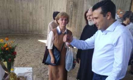 Премиерот Зоран Заев од Струмица со честитка за Богородица и повика на споделување на добрина