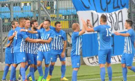 Фото – Фудбалерите на Беласица три пати ја тресеа мрежата на Тиквеш
