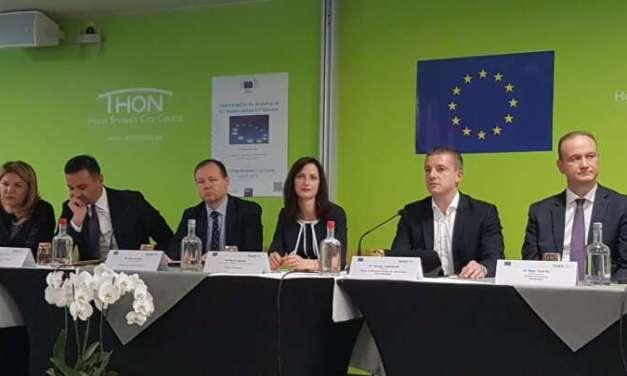 Министерот Манчевски на првиот ИКТ дијалог помеѓу ЕУ и Западен Балкан