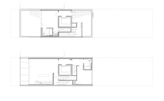 fourth (below) and Fifth (above) floor plan - Duplex unit