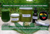 cannabis-oil green