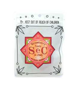 SeC StrawberryFeels50mgCBD Front 600x600