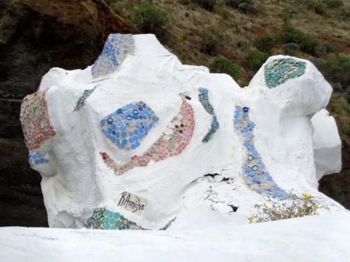 La Bajada - Müllskulptur 1