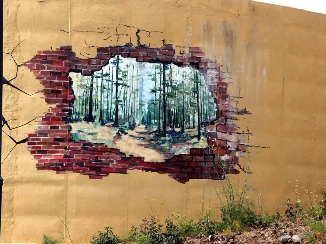 Wassertank-Malerei