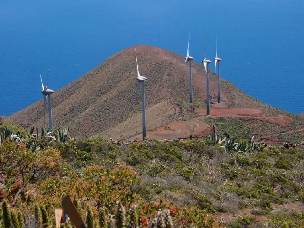 Windräder Auf El Hierro