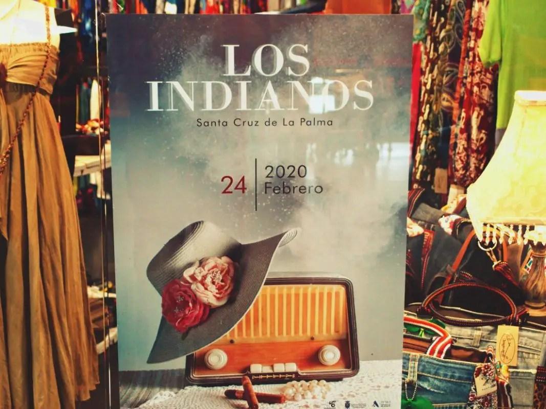 Plakat Dia de Los Indianos