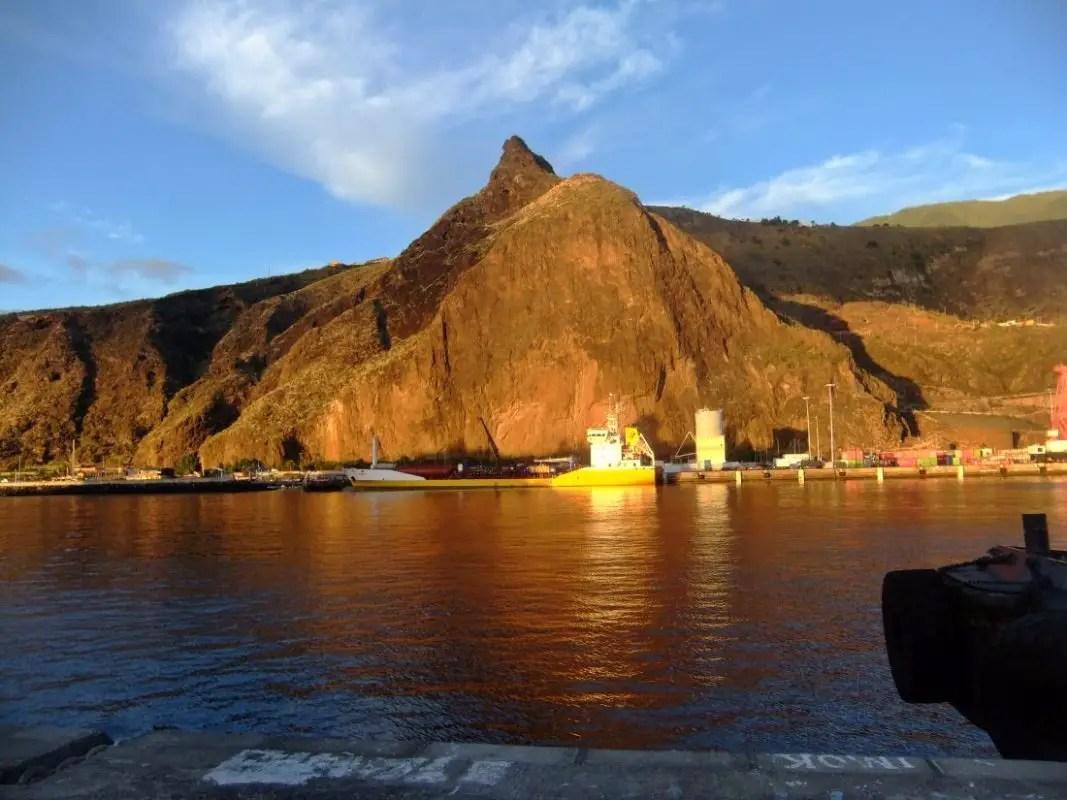 Risco de La Concepción - Felswand