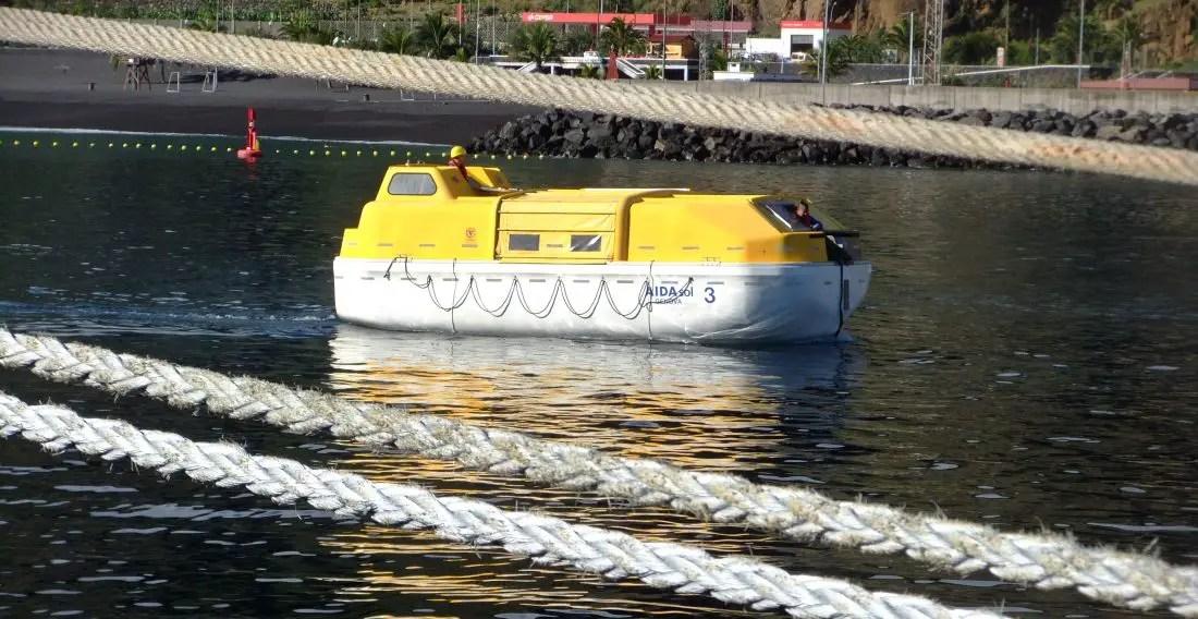 Rettungsboot - AIDA