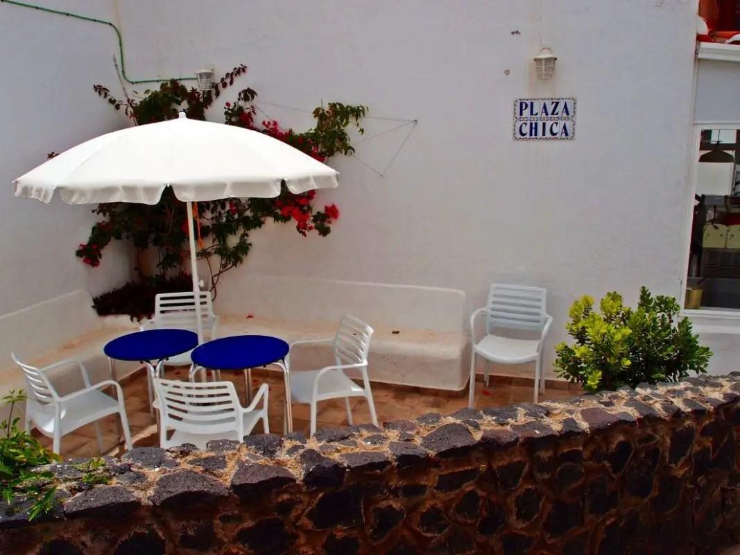 Sitzplatz - Plaza Chica