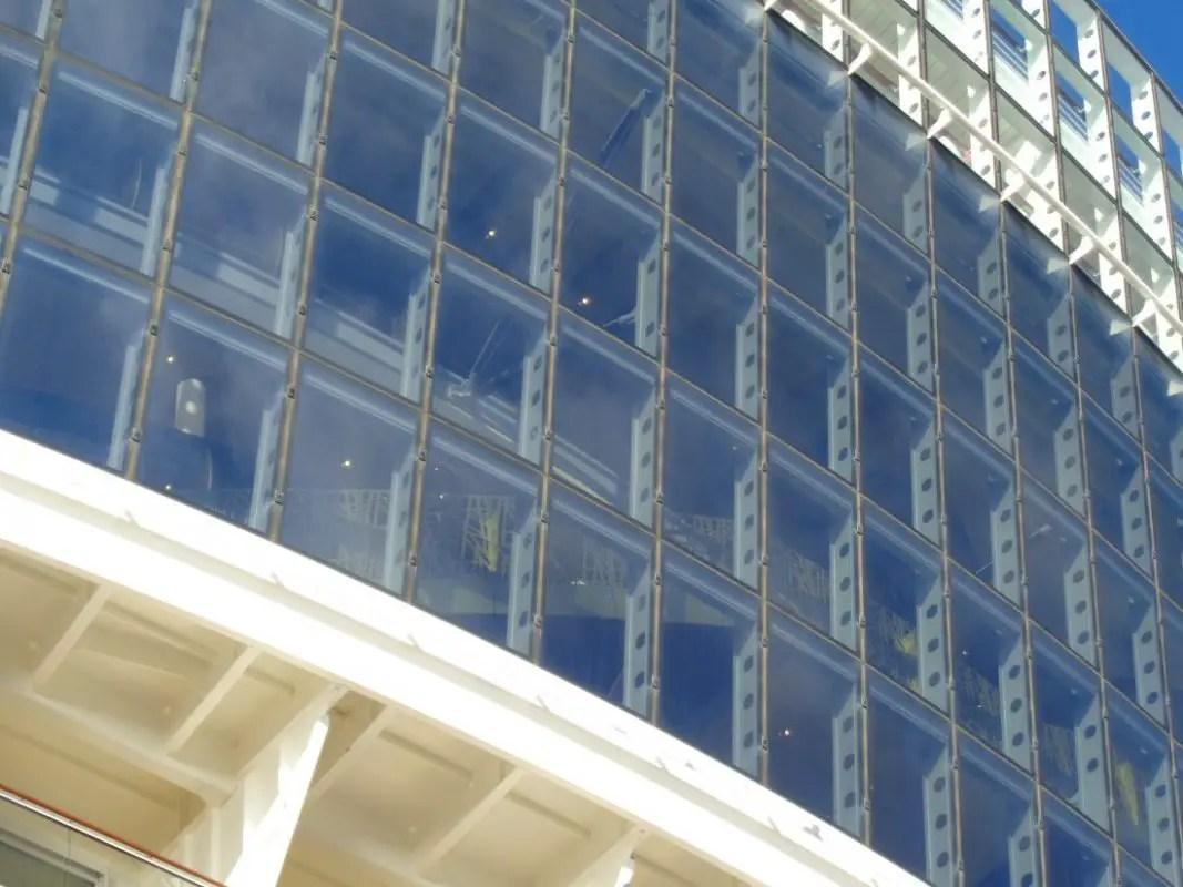 Glaswand - Glas Eremitage