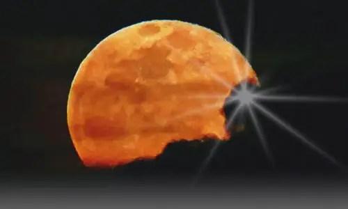 Mond über LaPalma