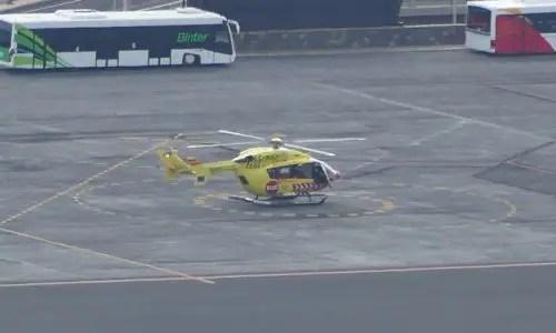 Notfall Hubschrauber